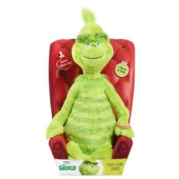 "Grinch 14"" Feature Plush"